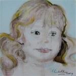 Acrylic Portrait Sketch