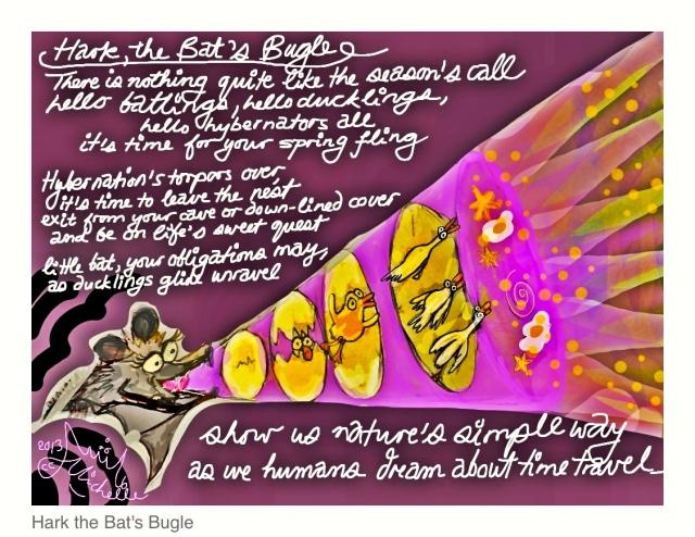 Bat's Bugle (NaPoWriMo#17)