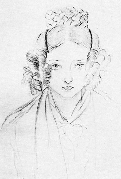 Victoria's own Sketch 1835