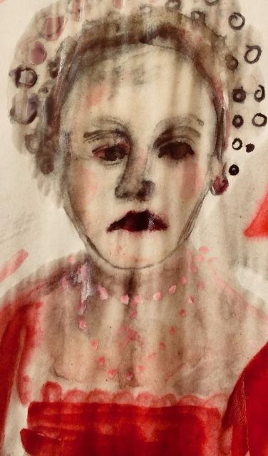 Anna Bolena opera sketch