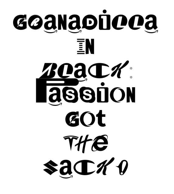 Brand New Roman by Hello Velocity spells Granadilla